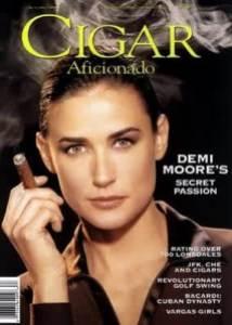 semestafakta-demi moore cigar