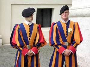 semestafakta-Papal Swiss Guards