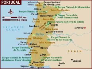 semestafakta-portugal map
