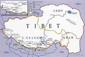 semestafakta-tibet map