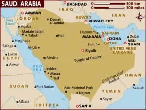 semestafakta-saudi map