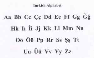 semestafakta-29-letter Turkish alphabet