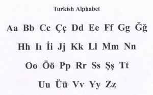 semestafakta-29-letter Turkish alphabet