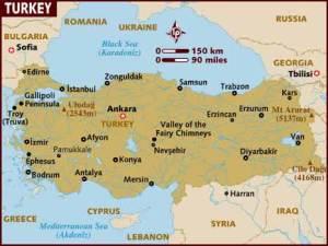semestafakta-turky map