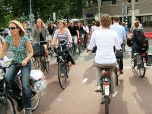 semestafakta-Dutch person cycles