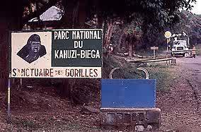 semestafakta-Kahuzi-Biega National Park