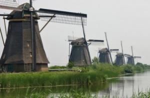 semestafakta-Kinderdijk windmill