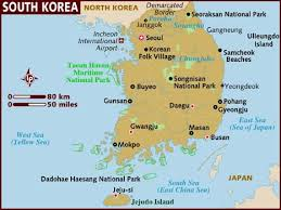 semestafakta-south korean map
