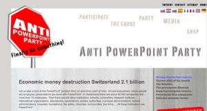 semestafakta-Anti Powerpoint Party