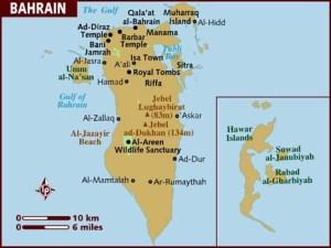 semestafakta-bahrain map