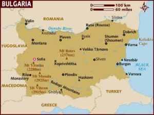 semestafakta-BULGARIA MAP