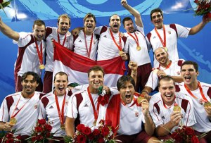 semestafakta-Hungary's men's water polo team
