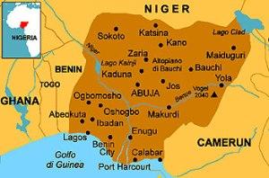semestafakta-nigeria map