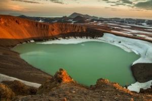 semestafakta-Öskjuvatn lake