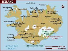 semestafakta-iceland map