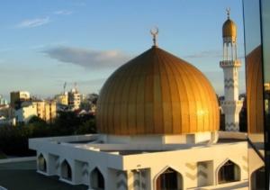 semestafakta-the gold-painted Grand Friday mosque