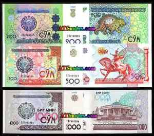 semestafakta-uzbek currency