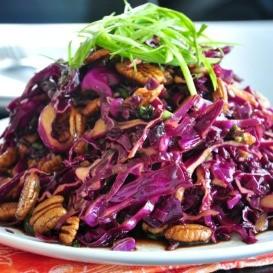 semestafakta-Purple Cabbage & Pecan Salad