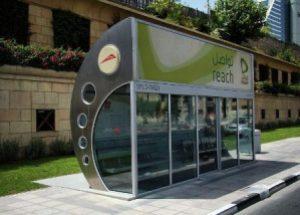 semestafakta-dubai bus stop
