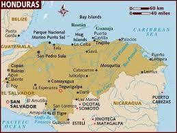 semestafakta-honduras map