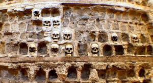 semestafakta-human skull tower