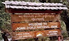 semestafakta-Jigme Dorji National Park