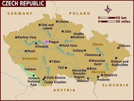 semestafakta-czech map