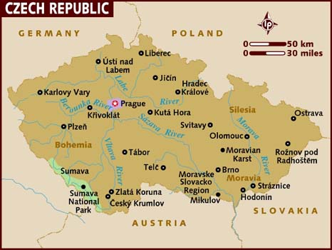 semestafakta-czech map