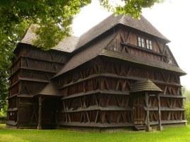 semestafakta- wooden church in Hronsek
