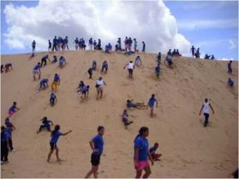 semestafakta-Sand Dunes at Los Medanos de Coro National Park
